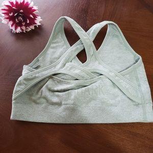 Gymshark Intimates & Sleepwear - Gymshark Camo Sage Green bra M/L